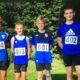 Jakob Hölscher, Max Wolgast, Jonas Deitmaring und Enno Kreimer nach ihrem erfolgreichen Saisonauftakt im zweiten Corona Sommer